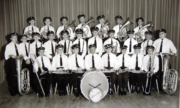 Die Großartiger Musikkapelle von 1959