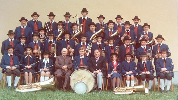 1976 mit Dirigent Manfred Greinwald