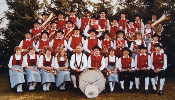 Im Jahr 1983 mit Dirigent Heinz Egger